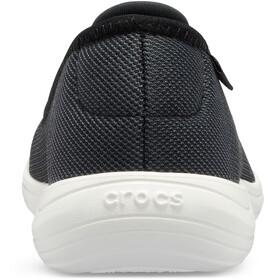 Crocs Reviva Flat Sandaalit Naiset, black/white